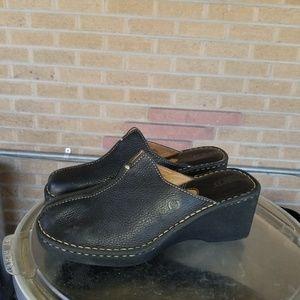 Born women's leather shoes sz 10